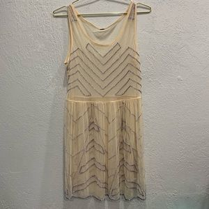 Anthropologie Free People Boho Shear Top Large